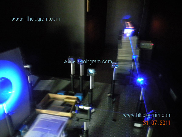 Hologram Laser