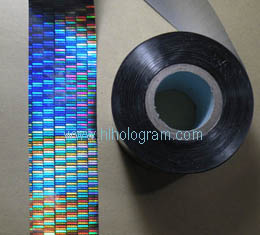 hologram hot stamping foil without register