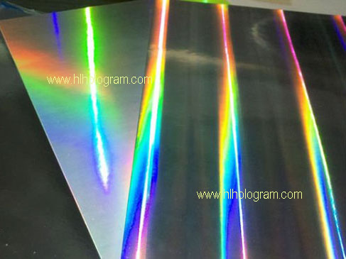 Holographic cardboard