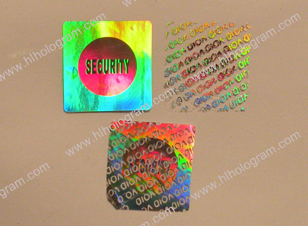 security hologram seal