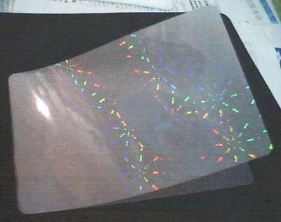 hologram card hologram id card lamination pouch and hologram card overlay - How To Laminate Cards
